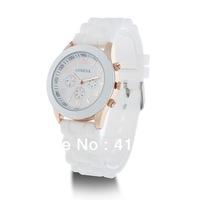 Free Shipping Three Eyes Silicone watch Wrist Watch Best Gift