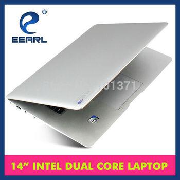 14 Inch Ultra Thin Laptop Notebook Ultrabook Intel Atom D2500 1.86GHz Dual Core 2GB DDR3 250G HDD