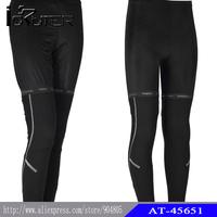New! ! !Men's Lycra cotton fleece Leg Warmers Breathability Sportswear Cycling Legwarmers free shipping