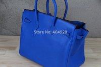 H 35cm -30cm  fashion  women  LITCHI genuine  leather  handbag women's handle DESIGN bag   wholesale and retail