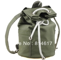 Hot sale high quality outdoor bucket style backpack luggage canvas sport bag cheap online on sale