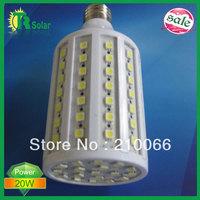4pcs/lot Free shipping 20W 102 LEDS Corn Light Bulb E27/E14 LED Lighting 1836-2040 Lumens Warm/Cool White Light 220V 360 Degree