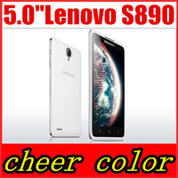 Original Lenovo S890 5 Inch Screen IPS QHD Dual Core 3G GPS WIFI 1G RAM 4G ROM Android smart phone Multi Language