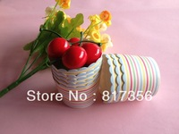 200pcs/lot Free Shipping Carnival Stripe Cupcake Baking Cups,Cupcake Cases| Cupcake Cups and Liners ,over 100 Style for choose