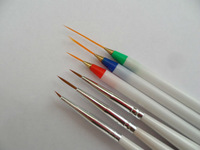Have one to sell? Sell it yourself HOT! Nail Art Line Drawing 3+3 Per Set Acrylic Painting Brush Pen Set YNA-00375