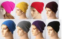 BEST SELLER Unisex Solid Color Warm Plain Acrylic Knit Ski Beanie Skull Hat YHT-00315