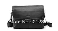 Free shipping Genuine Leather men's bag business bag POLO bag  shoulder bag