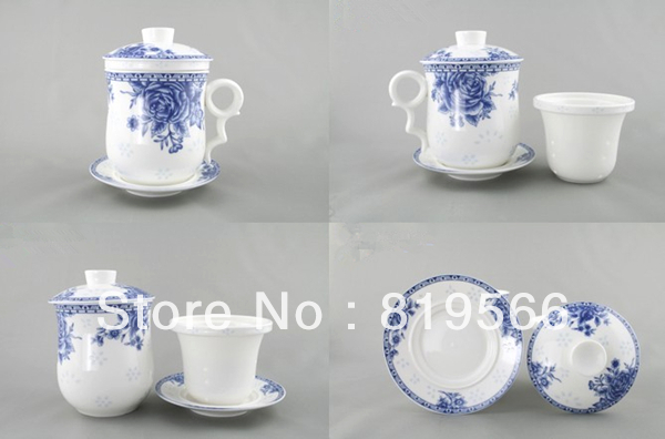Fine Bone China Ceramic Tea Cup For Porcelain Tea Set Cheap Coffee Mug Chinese Coffee Cups Novelty Items Discount Sale Wholesale(China (Mainland))