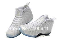 One ParaNorman mens basketball shoes Famous Player Air Foamposite One Hardaway Men's Basketbal Shoes white with the white bottom