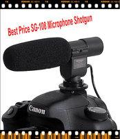 SG 108 Studio Microphone  Shortgun Mic Video For Canon 5D Mark II 7D 60D T3i