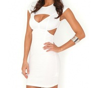Free Shipping Witta Multi Cut Out Bodycon DresS NOTU20131205