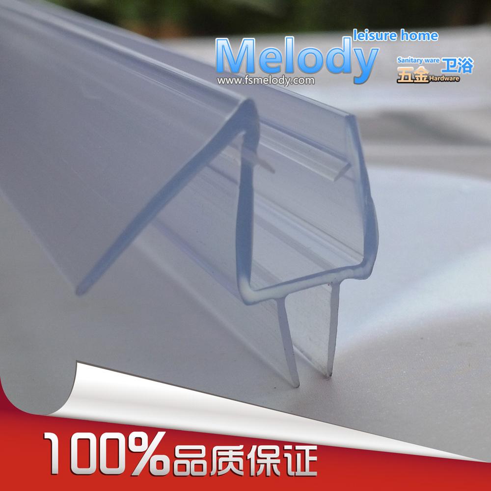 Me-310 Bath Shower Screen Rubber Big Seals waterproof strips glass door seals length:700mm(China (Mainland))