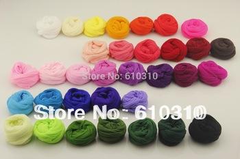 tensile stocking is 2.5m  Multicolor flower Nylon stocking material accessory handmade diy nylon flower stocking(30pcs/Lot)