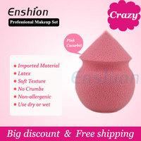 Free shipping! Enshion hot sales Bottle Gourd Sponge Beauty Makeup Powder Puff