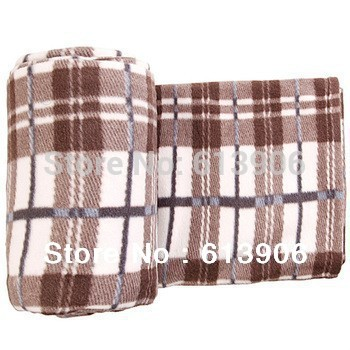 Outdoor Camping Fleece Sleeping Bag Liner Fleece Blanket Travelling Cloak Rug(China (Mainland))