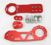 Front + Rear Red Civic RSX Integra Racing Tow Towing Hook Trailer Password JDM Universal(China (Mainland))