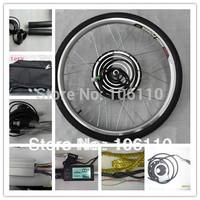 LCD display+26''48V1000W electric bike conversion  FRONT  kits