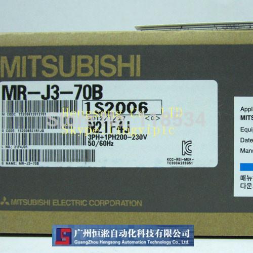 Mitsubishi Servo driver MR-J3-70B (new in box) with one year warranty(China (Mainland))