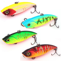 Hard plastic VIBE Deep diving seals freshwater fishing baits lures CF75