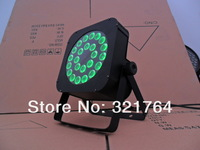 4 pcs/ lot Free shipping new  24 pcs 3 in one Flat LED Par RGB