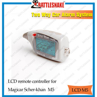 Free shipping original LCD remote controller for  MAGICAR SCHER-KHAN 2-way car alarm system Magicar 5/only LCD magicar M5