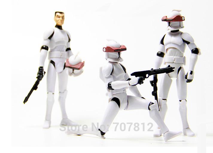 Star Wars White Soldiers Star Wars General White
