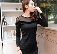 HOT Summer new arrival 2013 women's  casual loose one-piece dress plus size  free  shipping