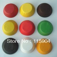 10000pcs mixed  mixed  solid  cupcake liners baking cup cake models