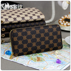 Free Shipping New Design Cheap Famous Brand Women PU Leather Wallet Ladies' Purse for Promotion(China (Mainland))