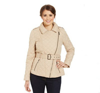 2013 new fashion women`s  Quilted Biker Jacket  wholesale pirce size:  10 14  16 18 20 22 Free shipping