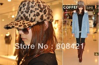 Free shipping!Mix Oder Retail 100% Cotton casual Baseball cap,Fashion Hip Hop Leopard print Hat for unisex