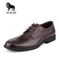 2013 New style Hot sell Top grade Man leather shoes Business and leisure fashion men's dress shoes 000-1254-0153