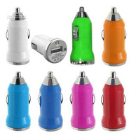 Free shipping (100 pieces/lot)1000MA New Mini Universal USB Car Charger Adapter for PDA Cell Phone Mp3 MP4