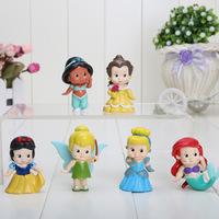 6cm Free shippping High Quality PVC Princess Tinkerbell doll toy Collection Figure Retail