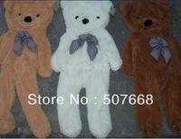 wholesale 3COLOR Teddy bear plush toys coat Big SIZE 180CM free shipping