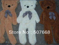 wholesale 3COLOR Teddy bear plush toys coat Big SIZE 180CM free shipping