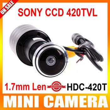 Mini Door Eye Hole Peephole Video Camera Color DOORVIEW CCTV Camera sony 420tvl 170 Wide Angle