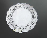 "5.5"" round doily paper plare cake decorating paper lace paper doilies"