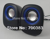(2PCS)Computer Speakers,USB Oxeye Speaker,2.0 Player,USB Sound box,PC Speakers,Mobile Phone Loudspeakers