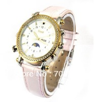 DHL  Mini DVR camcorder  HD waterproof  MP3  Watch Camera Girls Pink-Violet 4GB 8G hidden, pinhole video camera  Wholesale