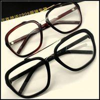 Y73 brief metal glasses large sunglasses eyeglasses frame fashion double beam glasses frame male women's glasses