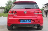 Volkswagen VW Golf 6 GTI Type-B Carbon Fiber Rear Bumper Diffuser Rear Lip (Only Fits: Golf GTI)