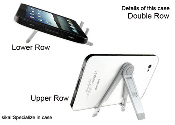 Universal Silvery Metal Tablet PC Stands for Apple iPad 2 3 Galaxy Tab Xoom Tablet PC Accessories + Free / Drop Shipping