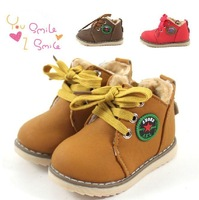 Hot Hot Sales Children Baby Boys and Girls Shoes Thickening Cotton Padded  Winter  Warm Prewalker Shoes 1 - 3 years