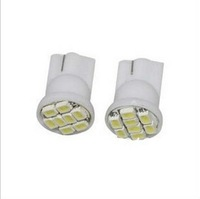 Wholesale 100pcs/lot white T10 194 168 192 W5W 3258smd 8 SMD super bright Auto led car lighting wedge