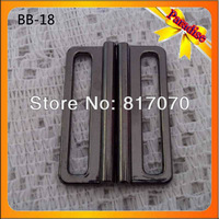 (BB-18) Hot sale gunmetal zinc alloy metal joint buckle for bags accessory