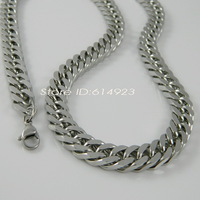 10mm*50cm 55cm 60cm 65cm 70cm 80cm 90cm 316L Stainless Steel Twist Byzantine Chunky Chain Necklaces For Men Huge Jewelry 41102