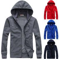 Free shipping 2014 New Arrive men's fashion hoodies men's autumn and winter outdoor cotton sweatshirt size S-XXXL D265