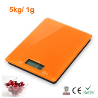 Electronic Kitchen scale food scale VKS303-5 Orange