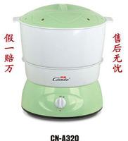 Kangli bean machine thermostated cn-a320 belt tableware pressure plate tape warranty